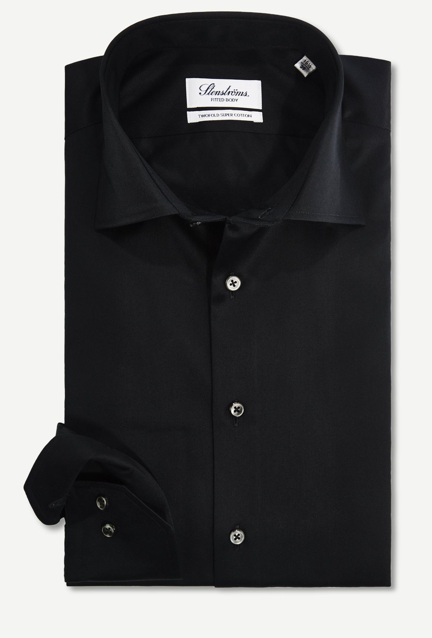 Shirts - Regular - Black