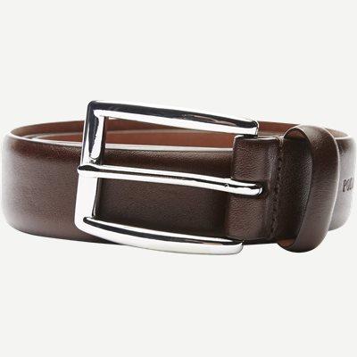 Cowhide 3 cm. Leather Belt Cowhide 3 cm. Leather Belt | Brun
