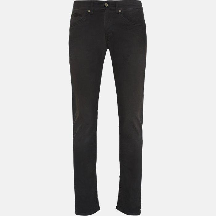 UP232 DS140 I36 jeans - Jeans - Sort