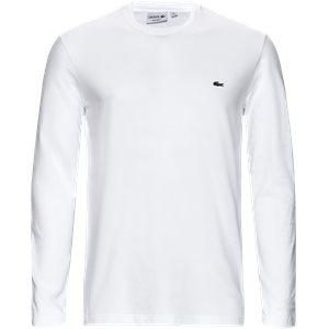 TH2040 Langærmet t-shirt Regular | TH2040 Langærmet t-shirt | Hvid