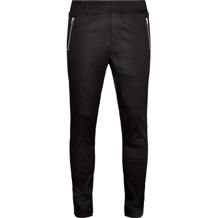 Flex Bukser - Bukser - Tapered fit - Sort