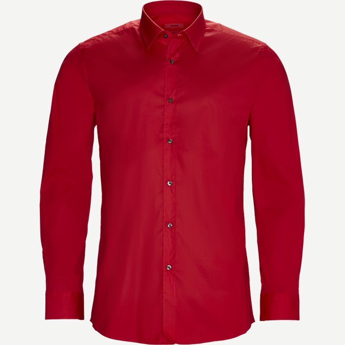 Elisha Skjorte - Skjorter - Ekstra slim fit - Rød