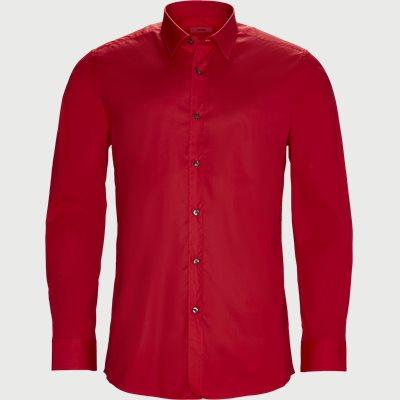 Elisha Skjorte Ekstra slim fit | Elisha Skjorte | Rød