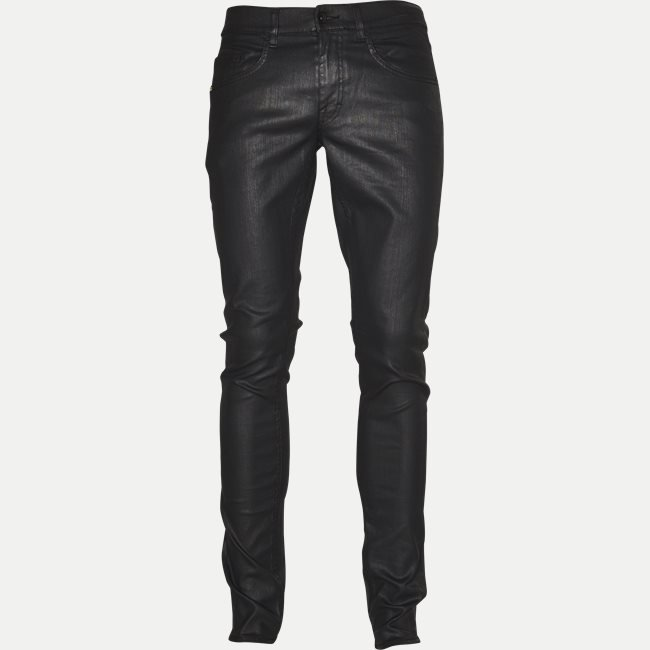 Coated Jeans