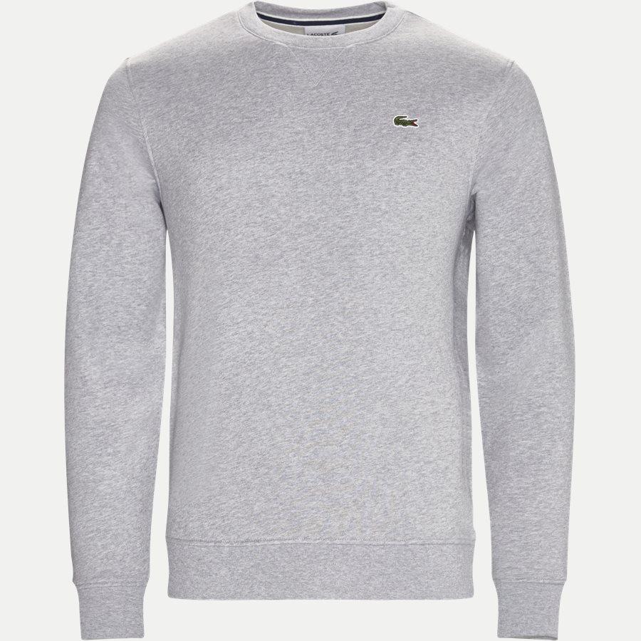 SH7613 - Crew Neck Sweatshirt - Sweatshirts - Regular - GRÅ - 1