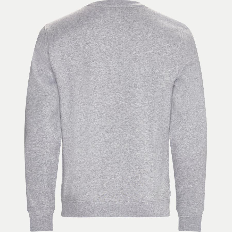 SH7613 - Crew Neck Sweatshirt - Sweatshirts - Regular - GRÅ - 2