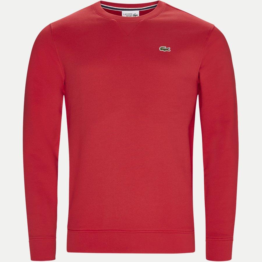 SH7613 - Crew Neck Sweatshirt - Sweatshirts - Regular - RØD - 1