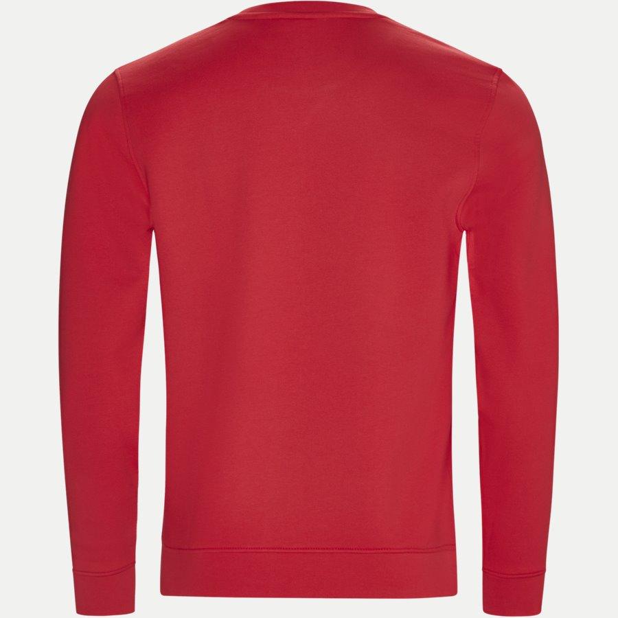 SH7613 - Crew Neck Sweatshirt - Sweatshirts - Regular - RØD - 2