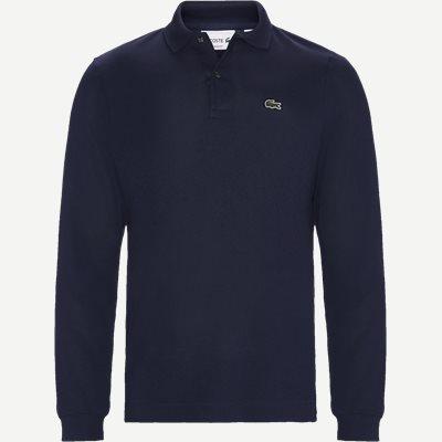 Langærmet Polo Slim | Langærmet Polo | Blå