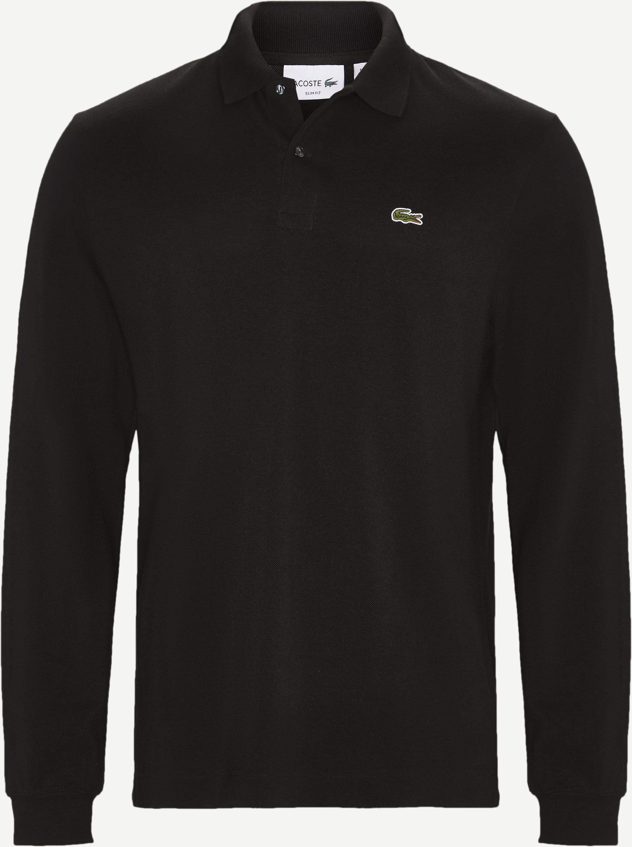 T-Shirts - Slim - Schwarz