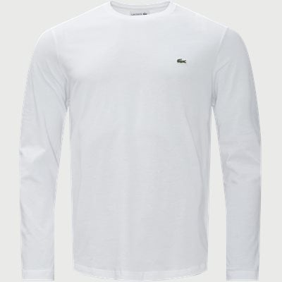 Long Sleeve Crew Neck Regular | Long Sleeve Crew Neck | Hvid