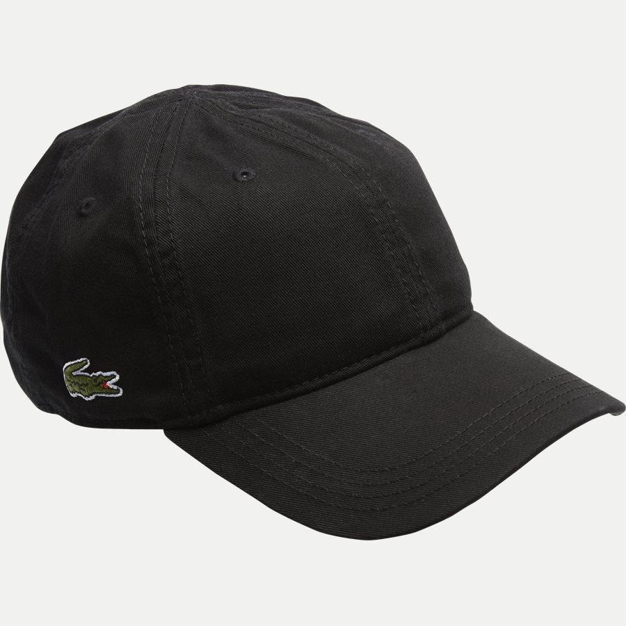 RK9811. - Gabadine Cap - Caps - SORT - 1