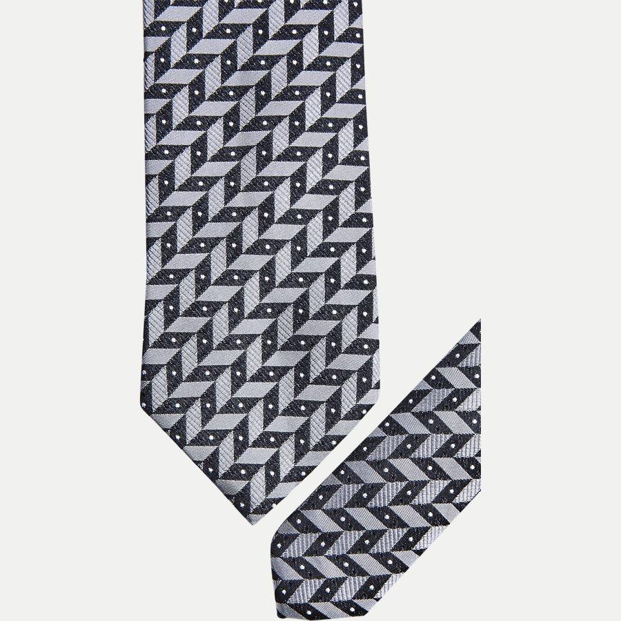 S228 - Krawatten - GREY - 2