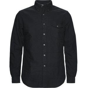 Skjorte Regular | Skjorte | Sort