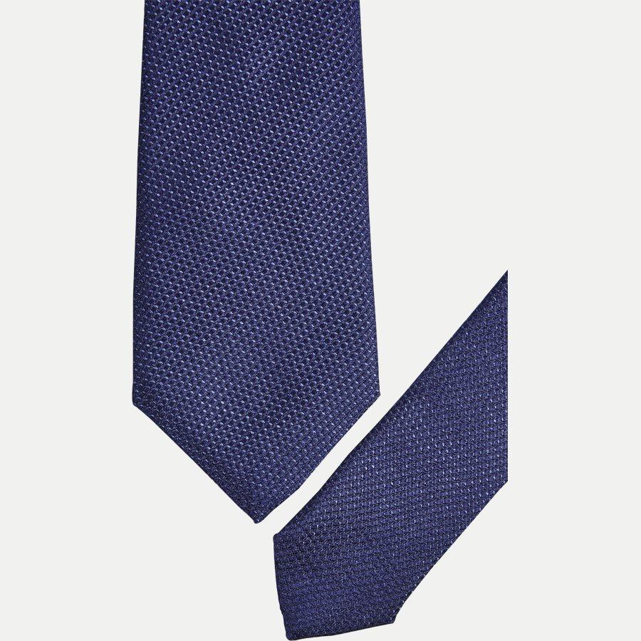 T119 - Krawatten - BLÅ - 2