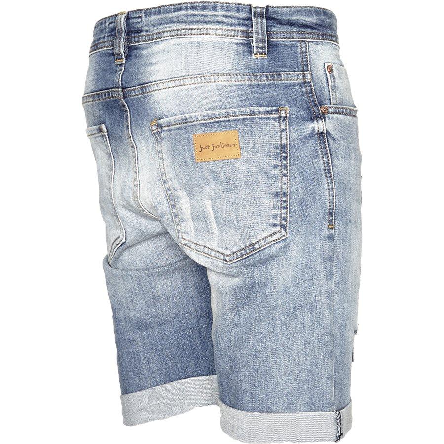 HEAVEN BLUE MIKE SHORTS - HEAVEN BLUE MIKE Shorts - Shorts - Regular - DENIM - 3