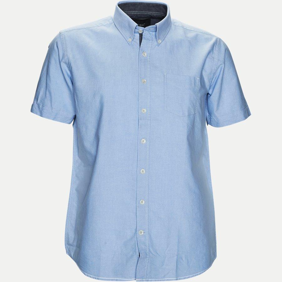 15107 32563 - Kortærmet Skjorte - Skjorter - Regular - LYSBLÅ - 1