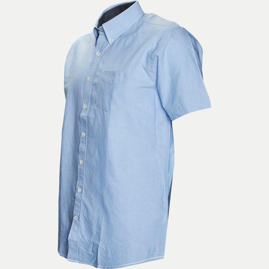 15107 32563 - Kortærmet Skjorte - Skjorter - Regular - LYSBLÅ - 3