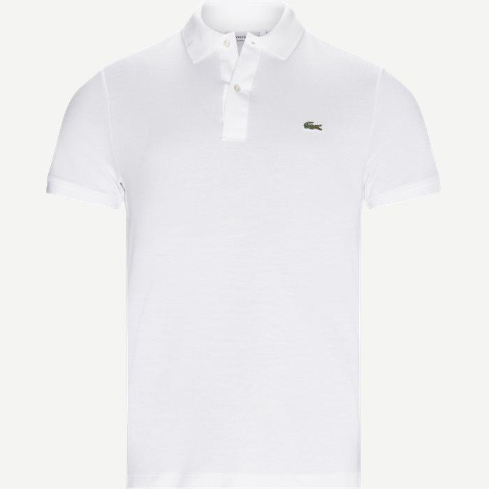 Petit Pique Polo - T-shirts - Slim - Hvid