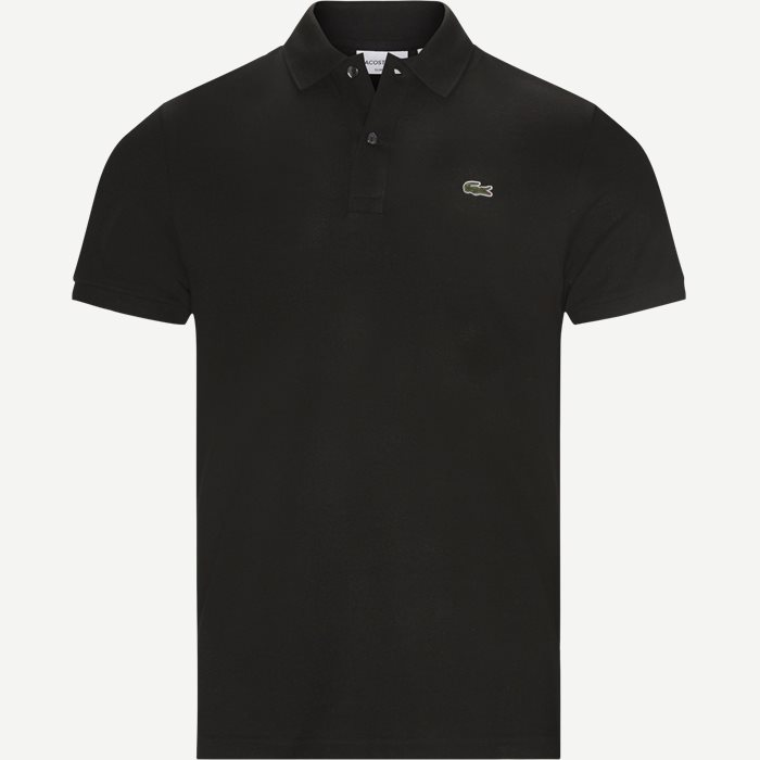 Petit Pique Polo - T-shirts - Slim - Sort
