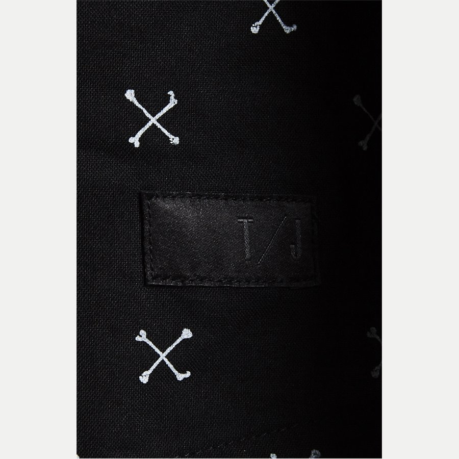 60982 DROOPY PRINT - Regular Skjorte - Skjorter - Regular - SORT - 3