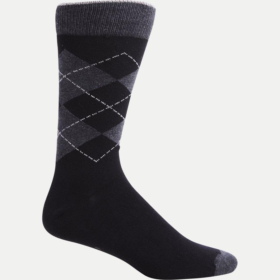 INDOSSA - Sokker - Strømper - SORT - 1