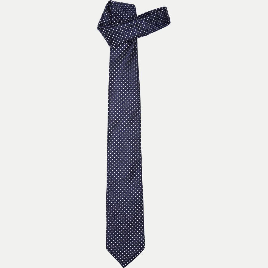 A000 20121 - Krawatten - BLÅ - 1