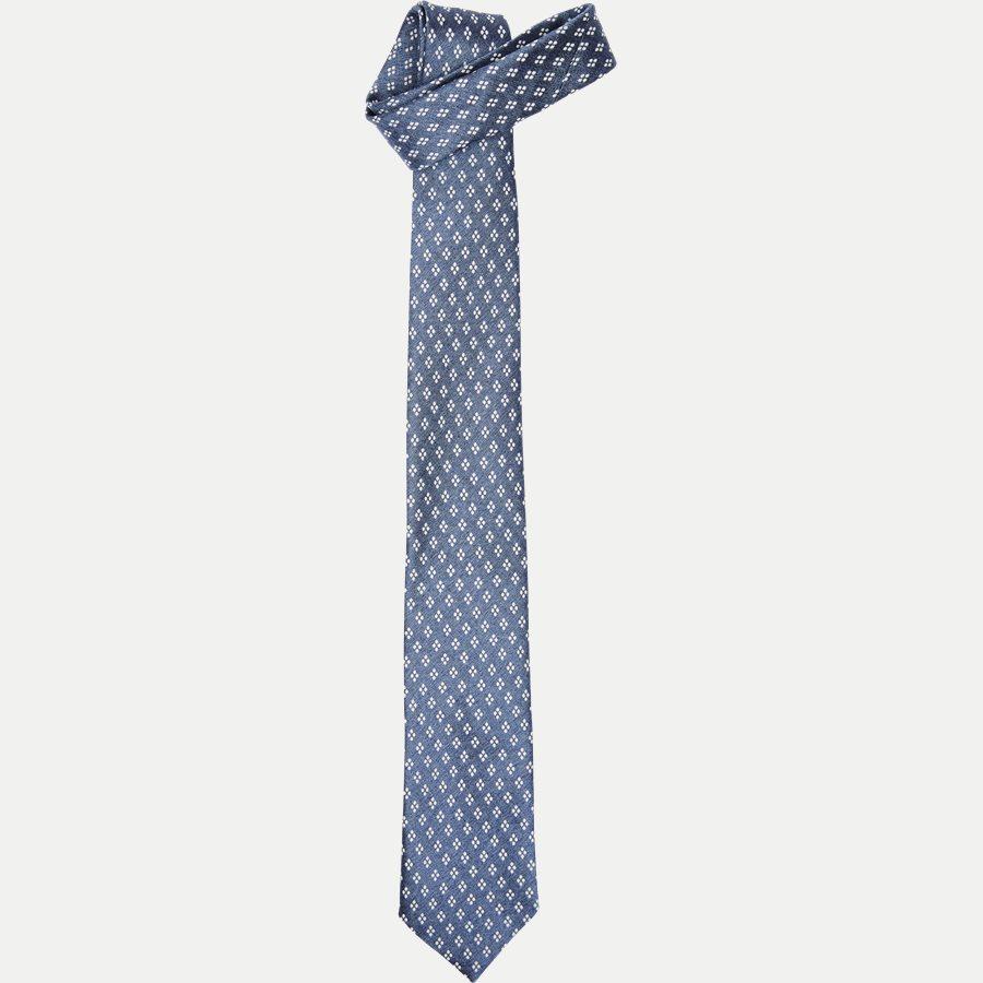 A000 20402 - Krawatten - BLÅ - 1