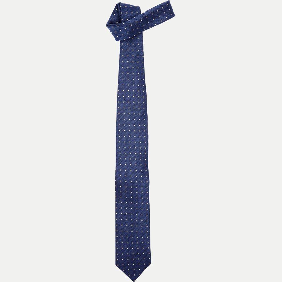 A000 20406 - Krawatten - BLÅ - 1