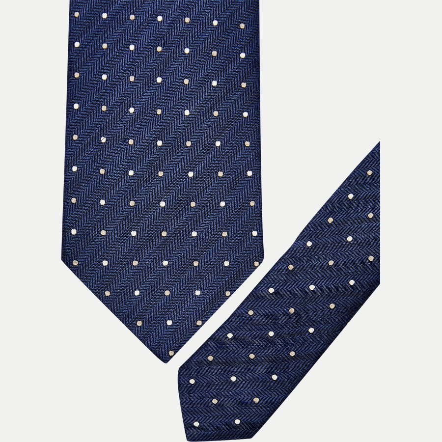 A000 20406 - Krawatten - BLÅ - 2