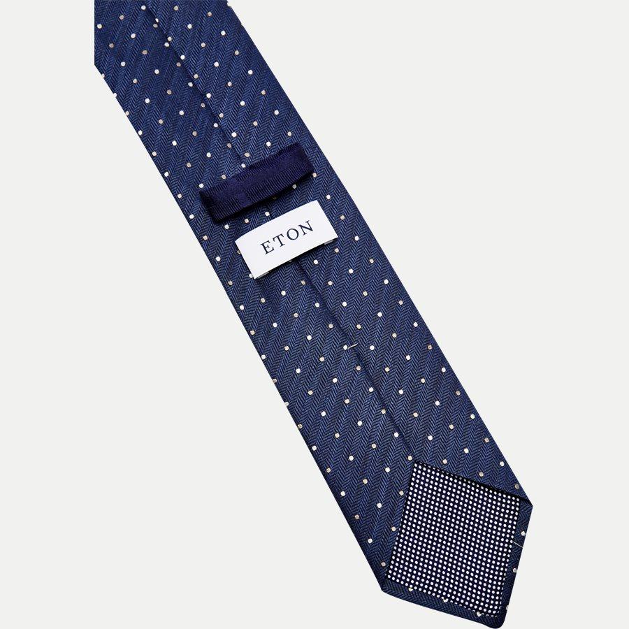 A000 20406 - Krawatten - BLÅ - 3