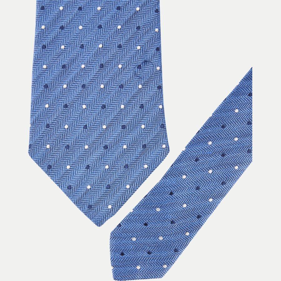 A000 20406 - Krawatten - NAVY - 2