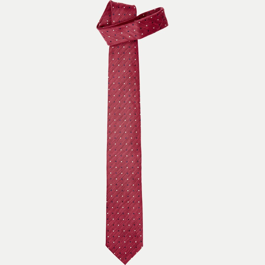 A000 20406 - Krawatten - RØD - 1
