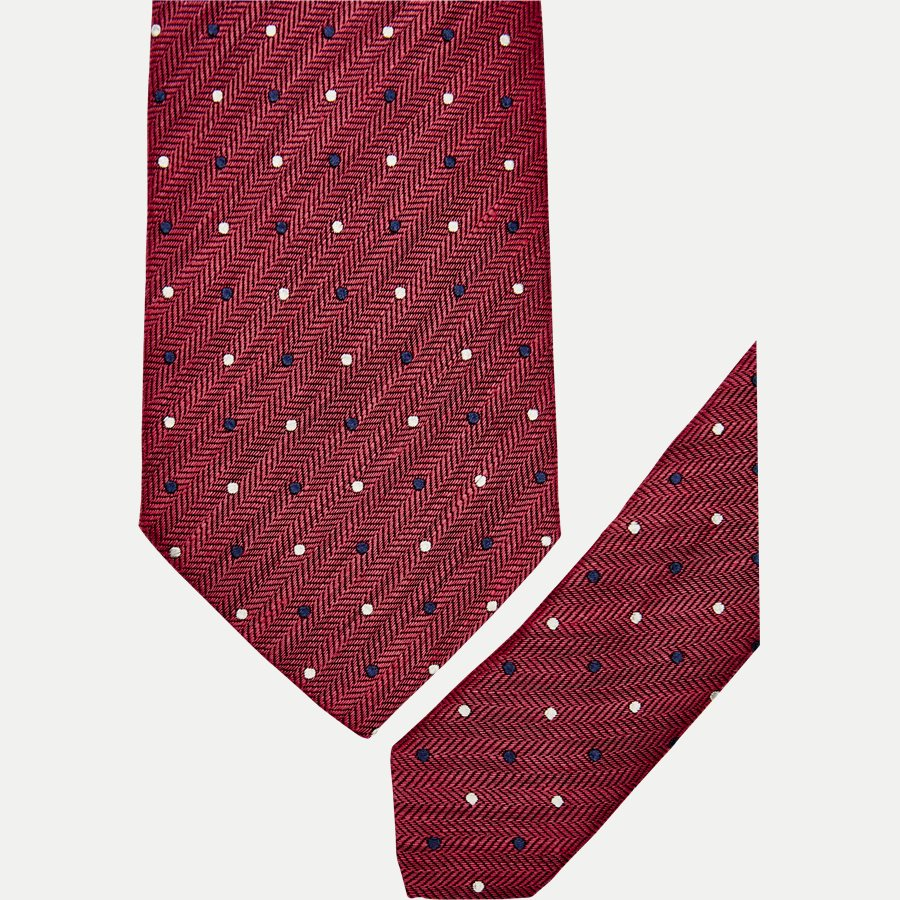 A000 20406 - Krawatten - RØD - 2