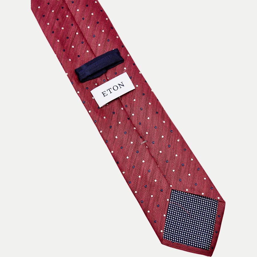 A000 20406 - Krawatten - RØD - 3