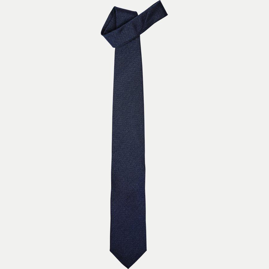 A000 20424 - Krawatten - BLÅ - 1