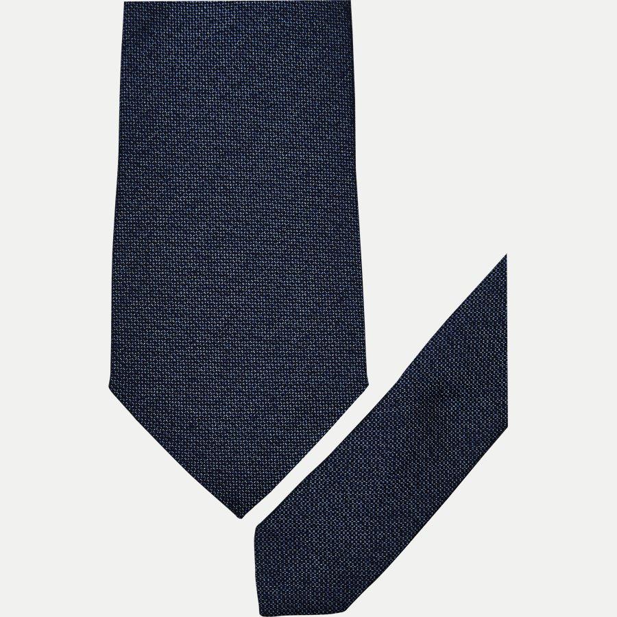 A000 20424 - Krawatten - BLÅ - 2