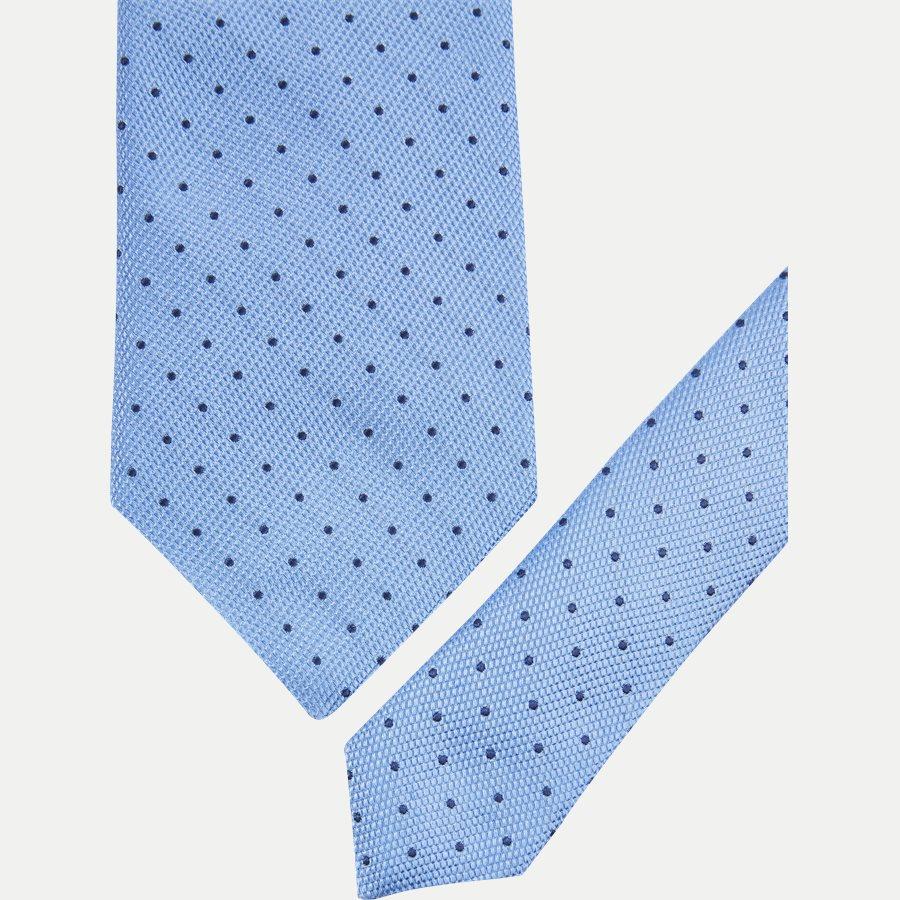 A000 20505 - Krawatten - BLÅ - 2