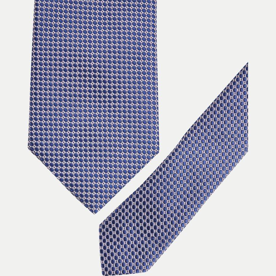 A000 20509 - Krawatten - BLÅ - 2
