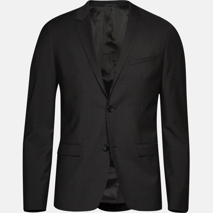 TIRREL-BM jakke - Blazer - Slim - Sort