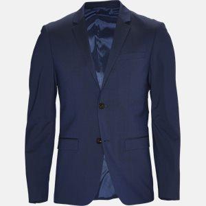 TIRREL-BM jakke Slim | TIRREL-BM jakke | Blå