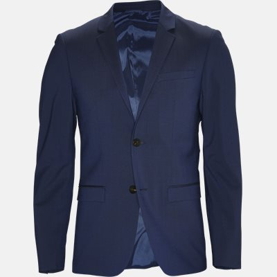 Slim   Blazers   Blue