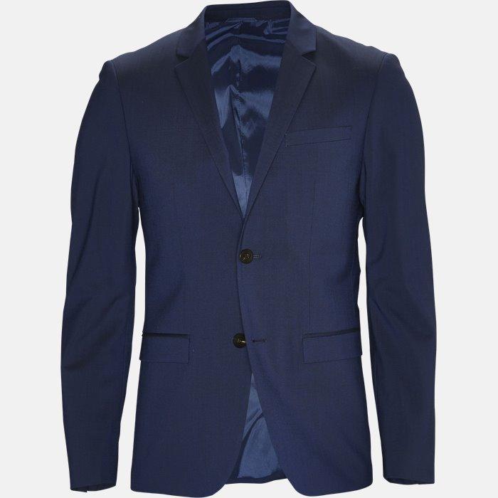 TIRREL-BM jakke - Blazer - Slim - Blå