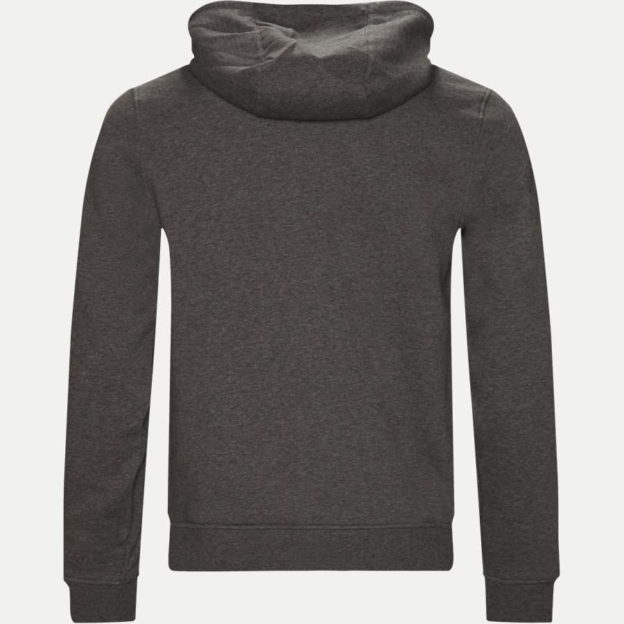 SH7609 - Hooded Zippered Sweatshirt - Sweatshirts - Regular - KOKS - 2