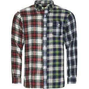 Core Fit Linen Check Fun Shirt Regular | Core Fit Linen Check Fun Shirt | Multi