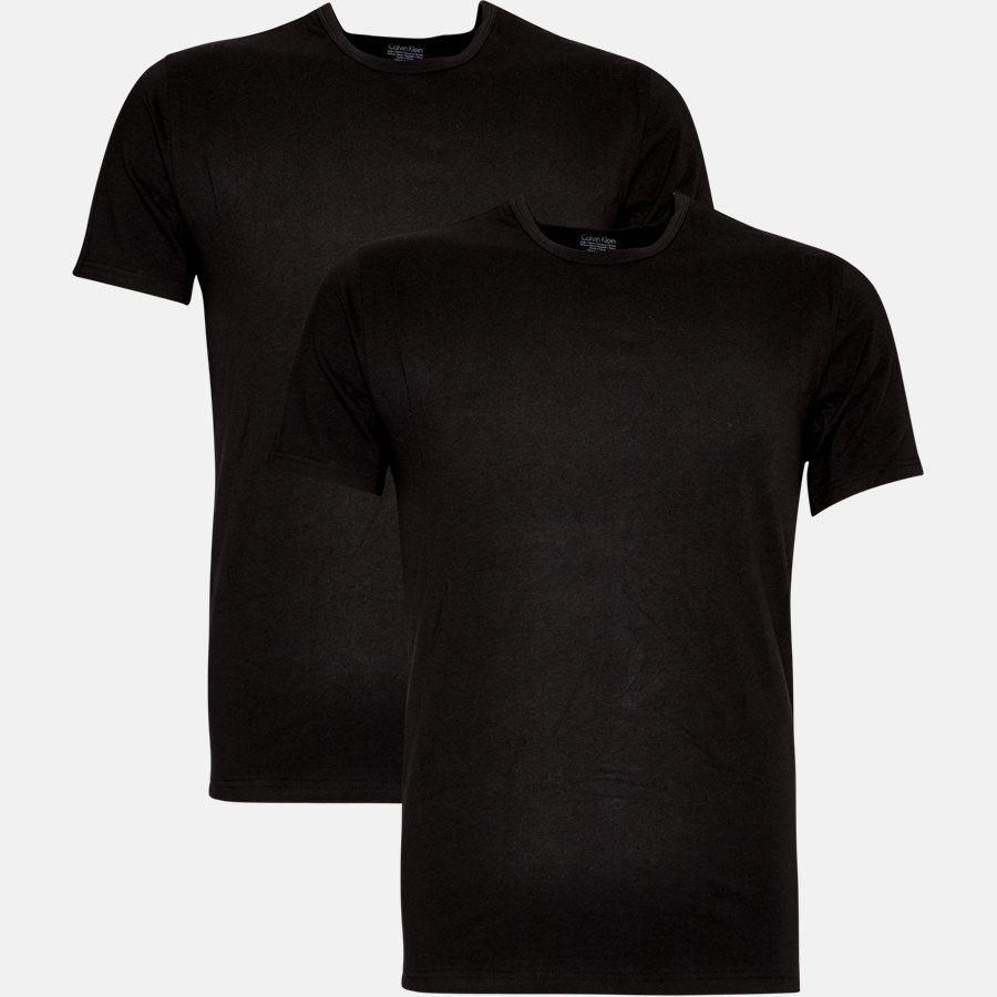 NB1088A - NB1088A t-shirt - Undertøj - Slim - BLACK - 1
