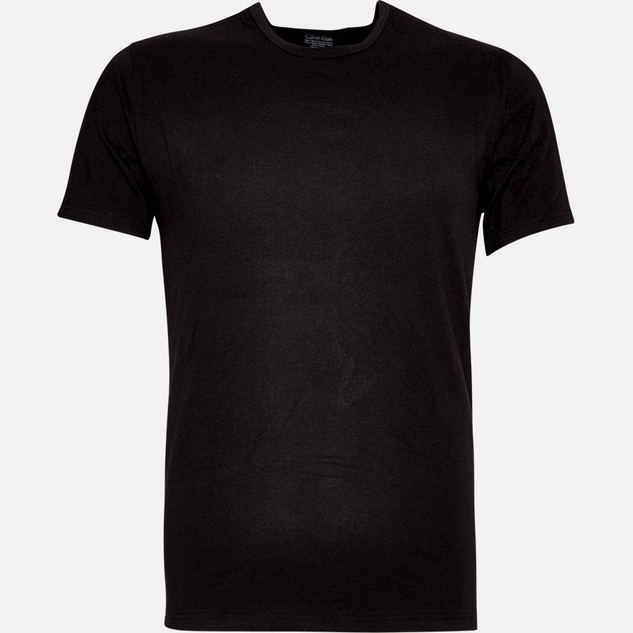 NB1088A - NB1088A t-shirt - Undertøj - Slim - BLACK - 2