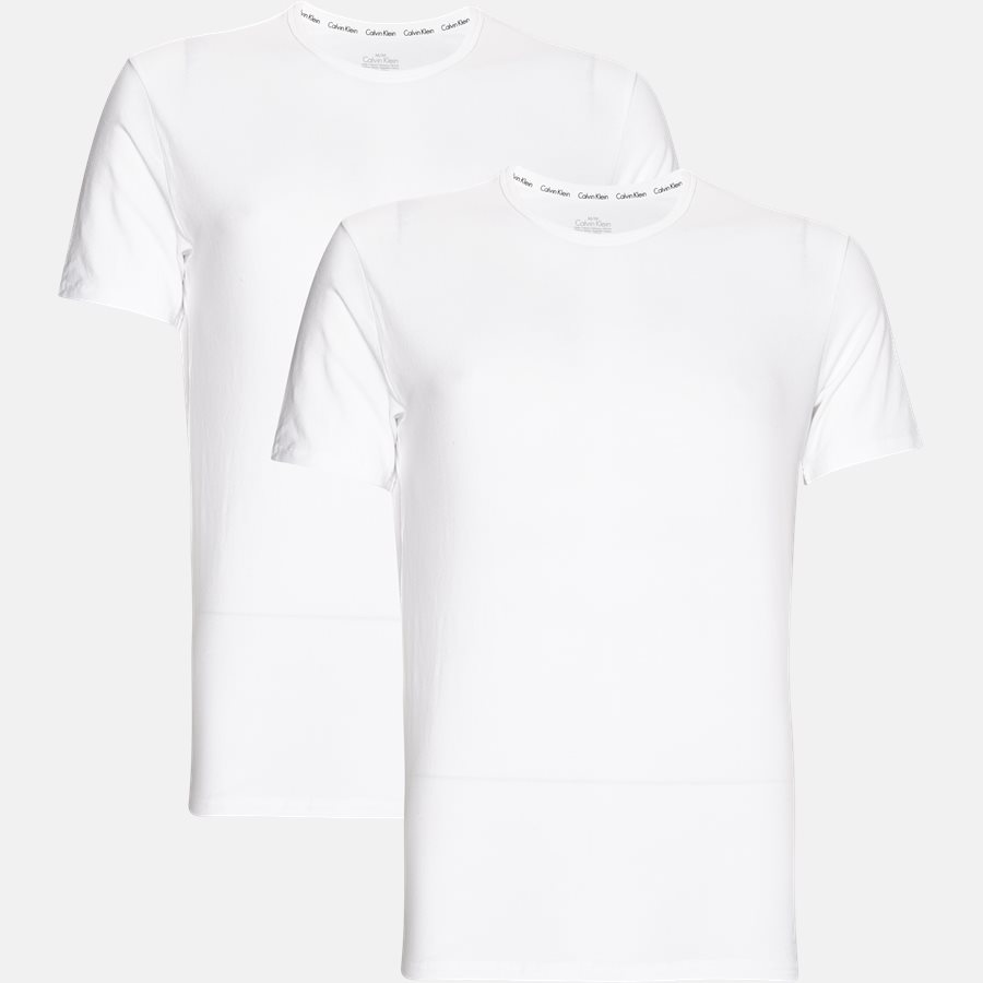 NB1088A - NB1088A t-shirt - Undertøj - Slim - WHITE - 1