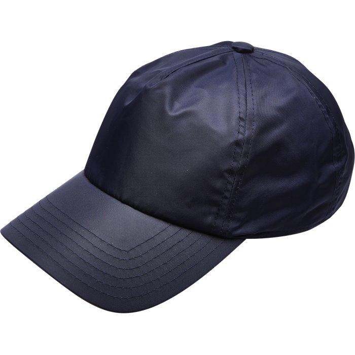 BARNOV VELCRO BASEBALL CAP - Caps - Blå