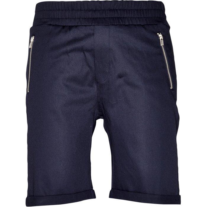 Shorts - Regular - Blå